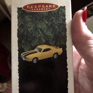 1995 Hallmark Camaro -Yellow-1969 Model